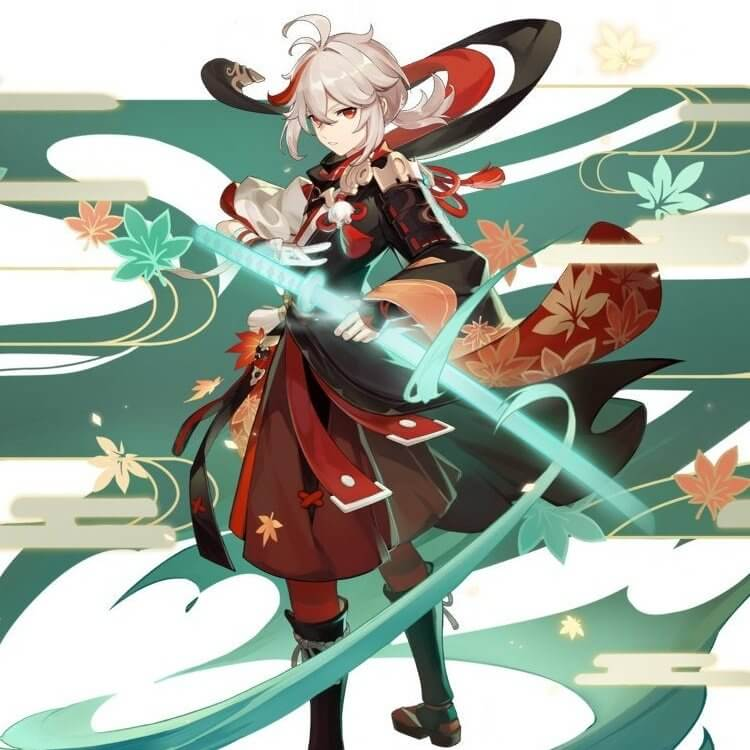 【原神】kazuha 画像