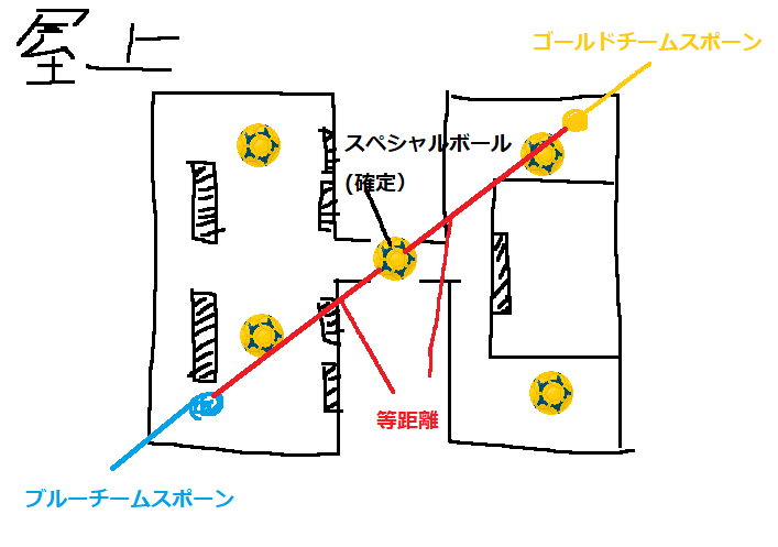 【ノックアウトシティ】屋上 マップ 画像